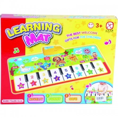 TAPETE LEARNING MUSICAL CAJA