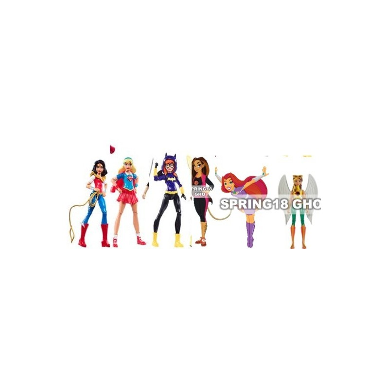 DC Super Hero Girls Surtido de Figuras de AcciOn