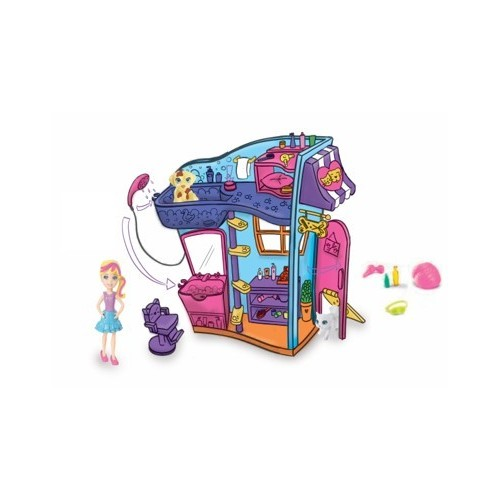 POLLY POCKET  SALON DE MASCOTAS POLLY