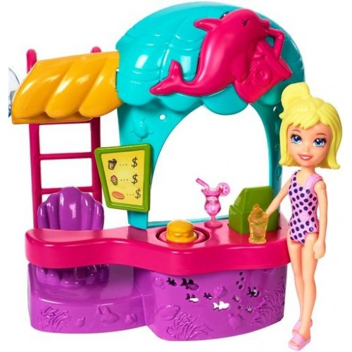POLLY POCKET  PARQUE ACUATICO DE DIVERSIONES