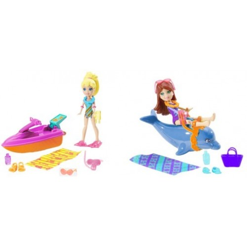 POLLY POCKET  VEHICULOS TROPICALES