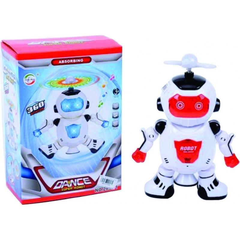 ROBOT DANCE PILAS CAJA