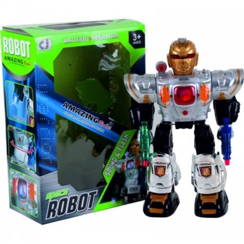 ROBOT AMAZING PILAS LUZ Y SONIDO CAJA