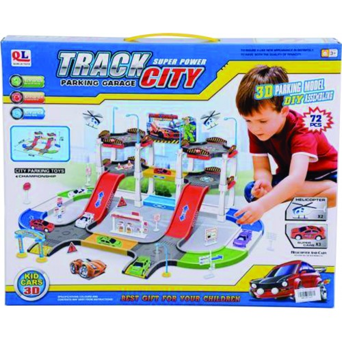 SET PARKING TRACK CITY CAJA