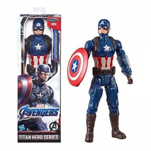 AVENGER TITAN HERO 12 IN CAPITAN AMERICA