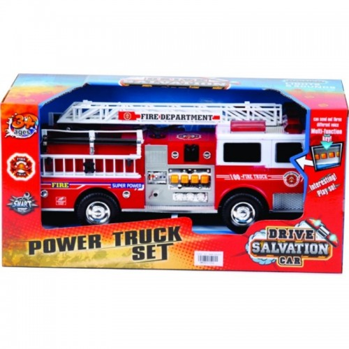 CARRO BOMBERO SALVATION FRICCION CAJA