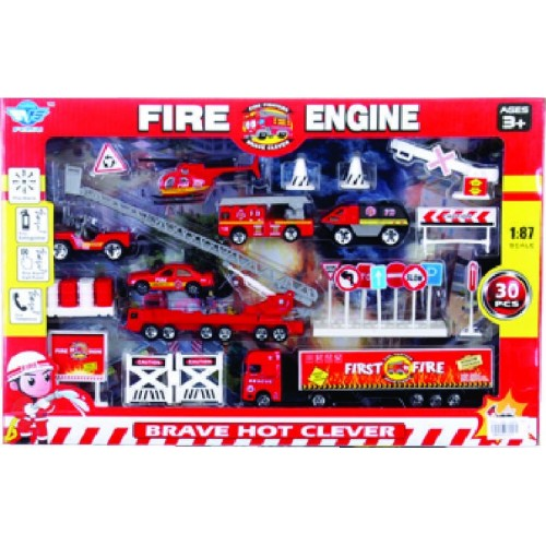 SET EMERGENCIA FIRE CAJA