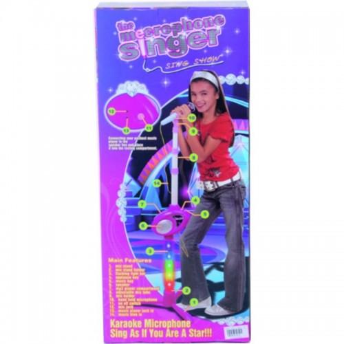 MICROFONO SINGER MP3 PILAS CAJA