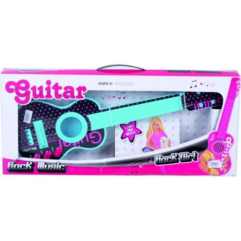 GUITARRA ROCK GIRL  CAJA