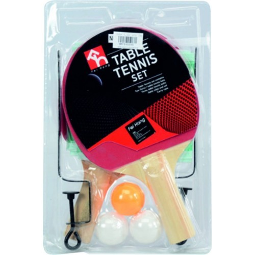 RAQUETAS PIN PONG CON RED BLISTER