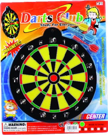 TIRO AL BLANCO GAME DARTS BLISTER - Juguetelandia 059561f1b3dde