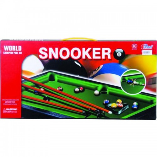 BILLAR POOL SNOOKER CAJA