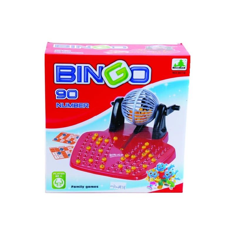 BINGO LOTTO GRANDE 24 CARTONES CAJA