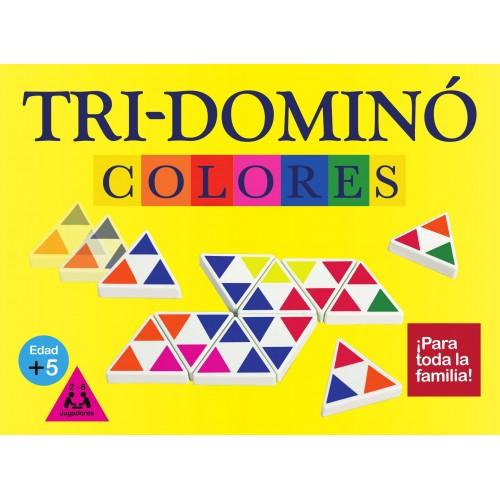 TRI-DOMINO COLORES CAJA