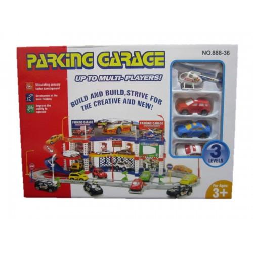 SET PARKING GARAGE CAJA