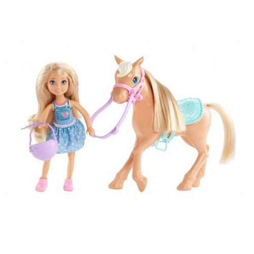 BARBIE CHEALSEA + PONY