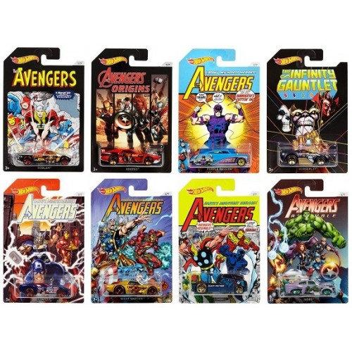 HOT WHEELS SURTIDO AVENGERS