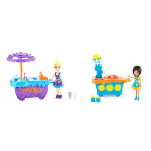 FOOD TRUCK DOLL&CART ASST