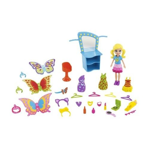 POLLY POCKET! POLLY MODAS DE MARIPOSA