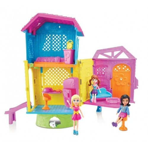 POLLY POCKET! CASA CLUB DE POLLY