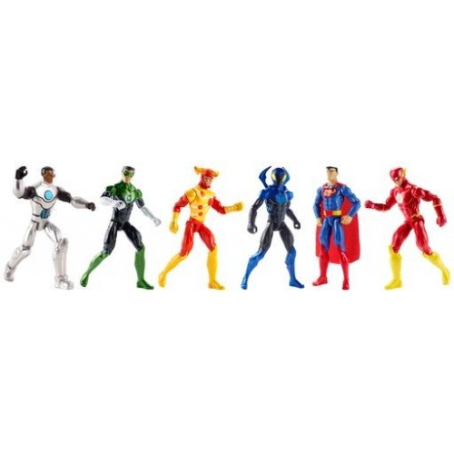 """DC COMICS JLA FIGURAS LIGA DE LA JUSTICIA ARTICULADAS 12"""" ASST"""