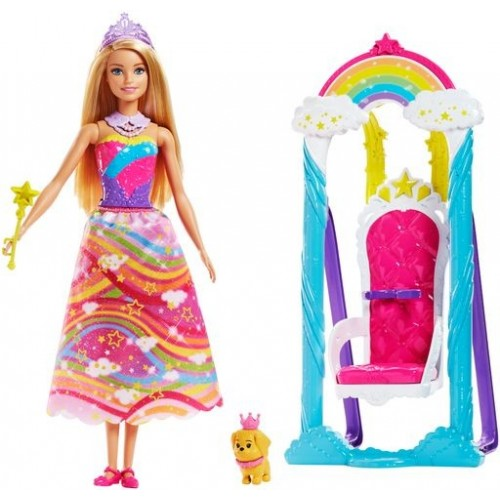 BARBIE DREAMTOPIA TRONO DE ARCOIRIS
