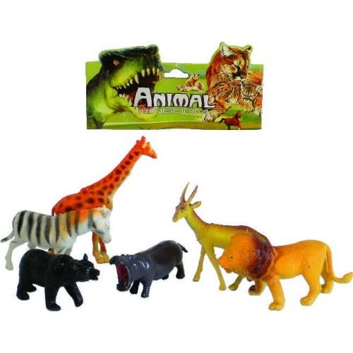 ANIMALES SALVAJES PEQUENOS X 6 BOLSA