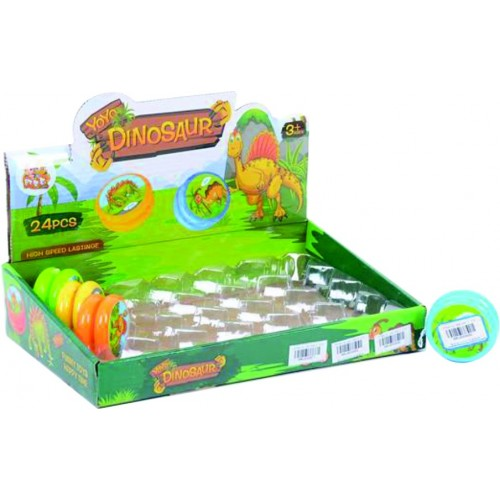 YOYO DINOSUARIO DISPLAY X 24 CAJA