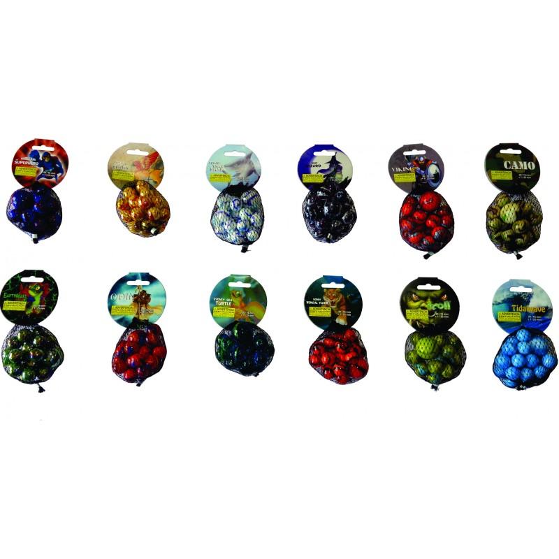 CANICAS 20 + 1 (12 modelos) MALLA