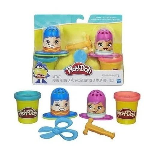 PLAY-DOH PEINADOS DIVERTIDOS