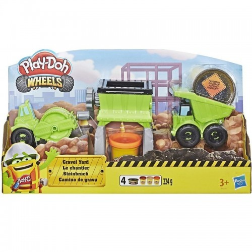 PLAY-DOH WHEELS GRAVA Y PAVIMENTO