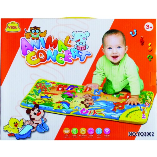 TAPETE ANIMAL MUSICAL CAJA