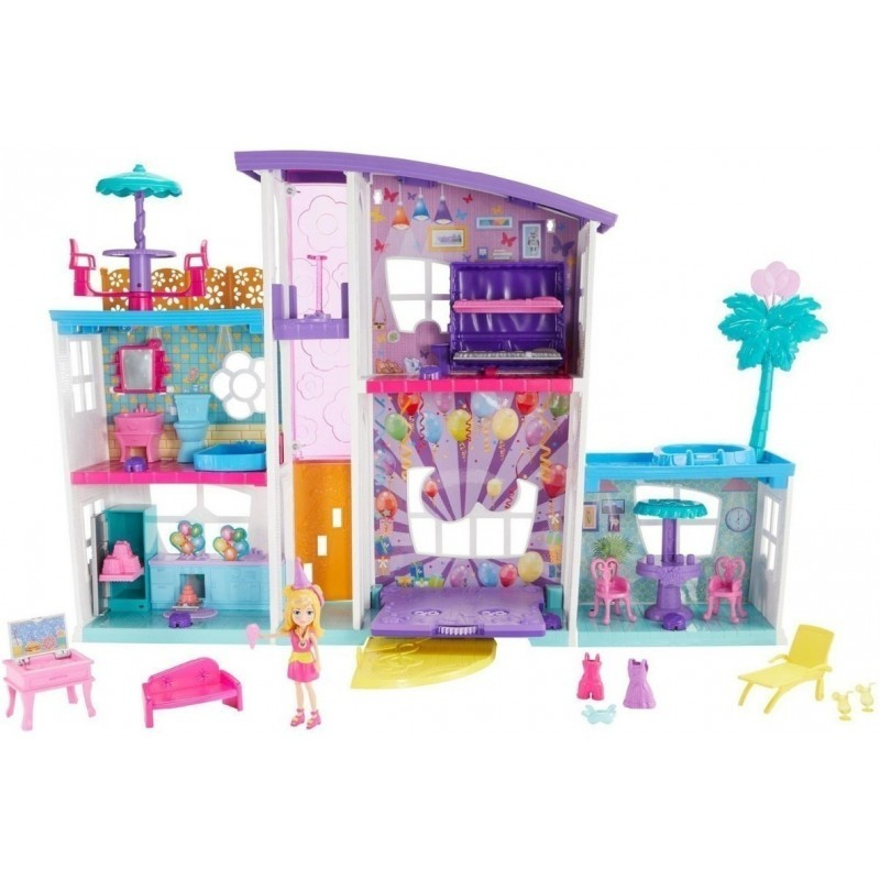 POLLY POCKET! MEGA CASA DE SORPRESAS
