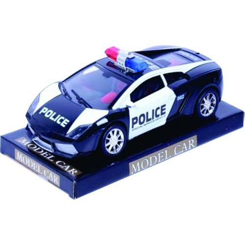 CARRO MODEL POLICE FRICCION BASE Y TAPA