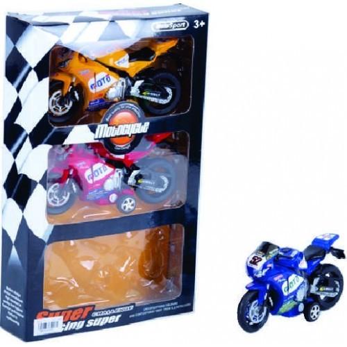 MOTO SUPER FRICCION X 3 CAJA