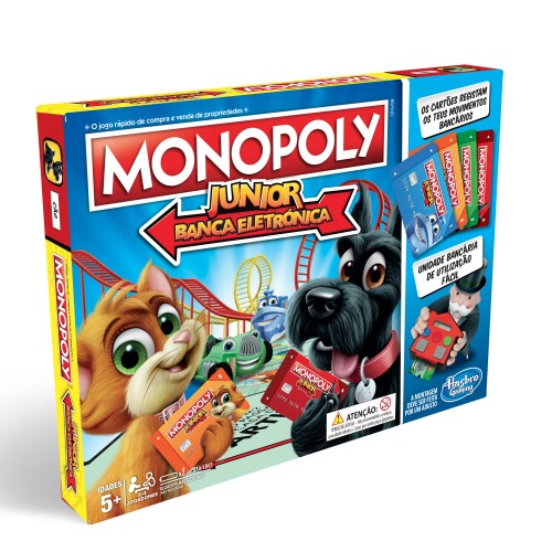 MONOPOLY JUNIOR BANCO ELECTRONICO