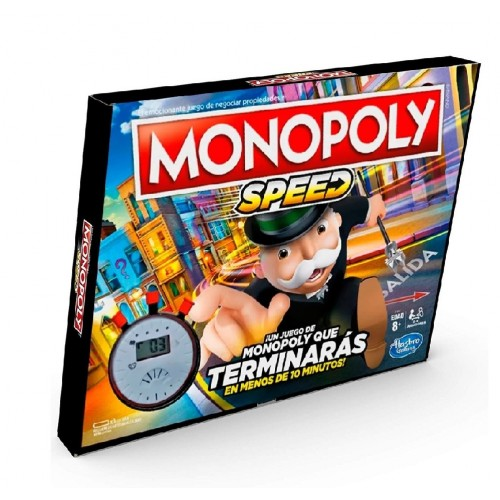 MONOPOLY SPEED VELOZ