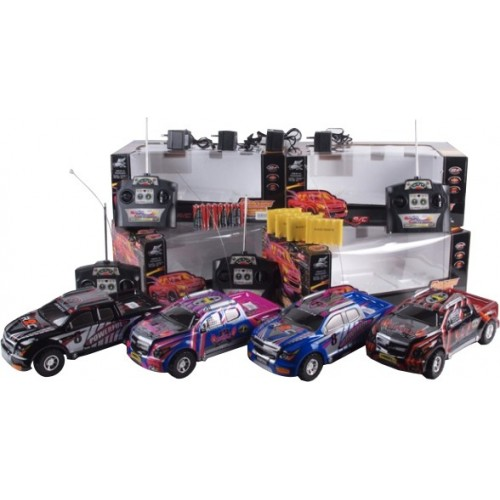 PICKUP RACING R/C BATERIA RECARGABLE CAJA