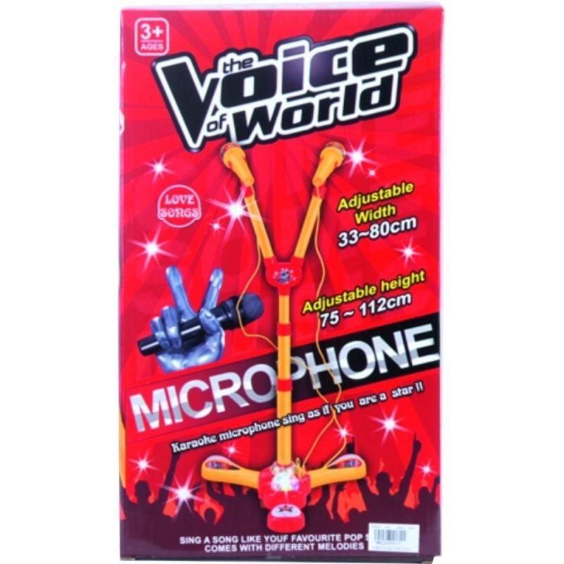 MICROFONO LOVE SONGS PILAS CAJA