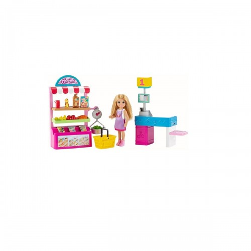 BARBIE CHELSEA CAN BE STAND DE BOCADILLOS
