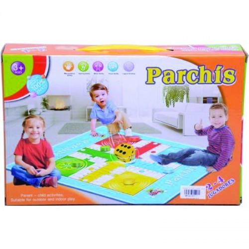 PARQUES TAPETE PARCHIS CAJA
