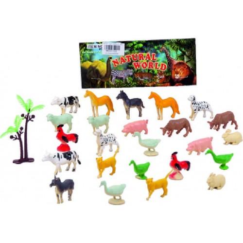 ANIMALES DE LA GRANJA PEQUENOS X 24 BOLSA