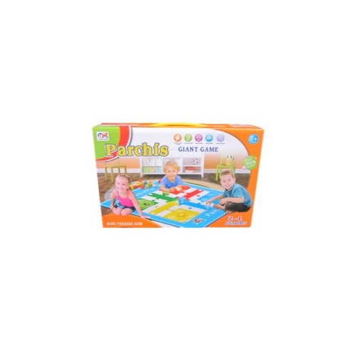 PARQUES TAPETE PARCHIS CAJA